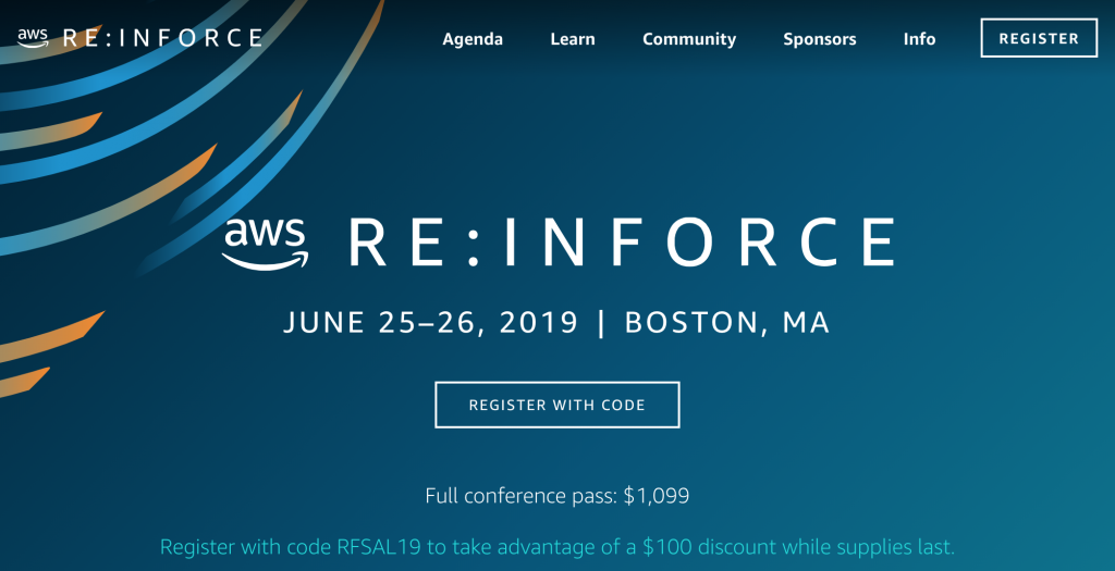 AWS re:Inforce 2019